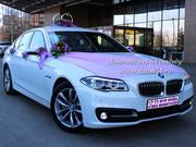 Новый автомобиль на свадьбу БМВ 530