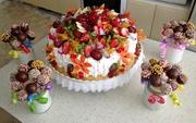 Торты чак-чак пирожные десерты кейкпопсы панакота на заказ в Уфе