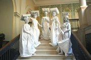 Живые статуи на мероприятие
