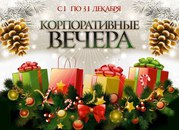 Новый год за городом Томском. корпоративы